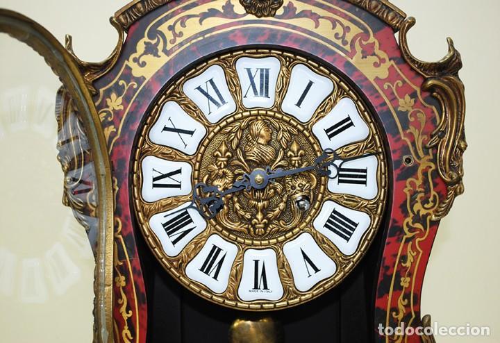Relojes de carga manual: RELOJ ANTIGUO DE MESA ESTILO NAPOLEÓN III - Foto 13 - 218773977