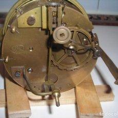 """Relógios de carga manual: ANTIGUA MAQUINARIA DE RELOJ DE SOBREMESA TIPO """"PARÍS""""AÑO 1870. SONERIA Y MOVIMIENTO FUNCIONANDO. Lote 219550508"""