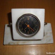 Relógios de carga manual: RELOJ DE TANQUE SOVIÉTICO RUSO CON SOPORTE DE MARMOL. Lote 220585752