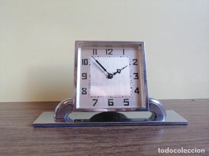 RELOJ ART DECO DE SOBREMESA (Relojes - Sobremesa Carga Manual)