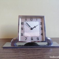 Relojes de carga manual: RELOJ ART DECO DE SOBREMESA. Lote 220783452