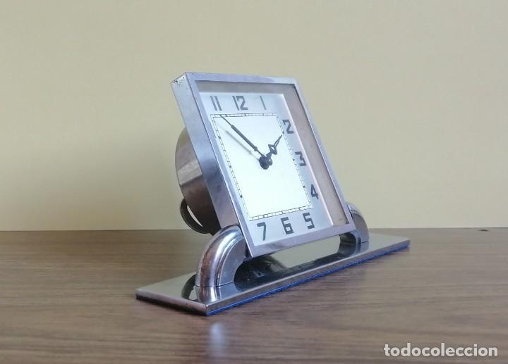 Relojes de carga manual: RELOJ ART DECO DE SOBREMESA - Foto 2 - 220783452
