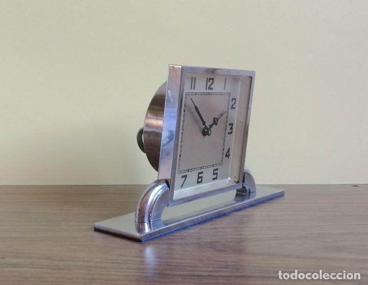Relojes de carga manual: RELOJ ART DECO DE SOBREMESA - Foto 3 - 220783452