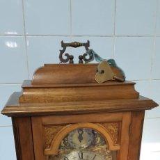 Relojes de carga manual: RELOJ CARRILLON DE SOBREMESA ESTILO TOMPION. Lote 220800606