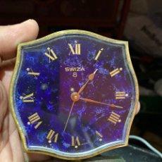Relógios de carga manual: RELOJ DESPERTADOR DE CUERDA SWISA 8 DISEÑO 1960 . ESFERA MUY BONITA .FUNCIONA PERFECTAMENTE. Lote 220812812