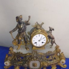 Relojes de carga manual: ANTIGUO RELOJ FRANCÉS MOTIVO CAZA SIGLOXIX. Lote 220954082