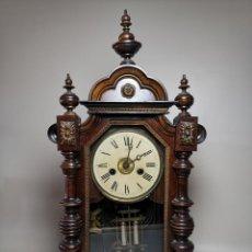 Relojes de carga manual: RELOJ DE PÉNDULO DE SOBREMESA JUNGHANS, - SONERÍA Y DESPERTADOR. CIRCA 1870-90,,, Nº 3244. Lote 221525266