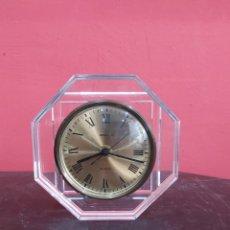 Relojes de carga manual: RELOJ DE SOBREMESA DE CRISTAL STAIGER ANTIGUA. Lote 221681330