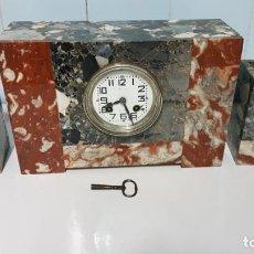Relojes de carga manual: RELOJ DE SOBREMESA ART DECÓ. Lote 221923175