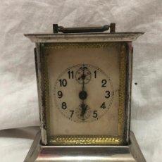Relojes de carga manual: RELOJ DE SOBREMESA DE CUERDA CON TIMBRE. Lote 221950231