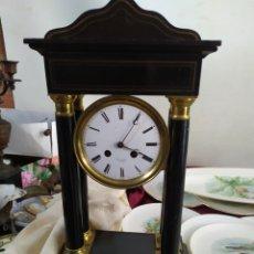 Relógios de carga manual: ANTIGUO RELOJ PÓRTICO FRANCÉS SIGLO XIX. Lote 221992351
