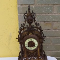 Relógios de carga manual: ANTIQUÍSIMO RELOJ FRANCÉS DE BRONCE. Lote 222169040