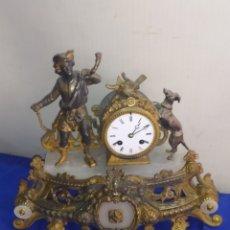 Relojes de carga manual: ANTIGUO RELOJ FRANCÉS MOTIVO CAZA SIGLOXIX. Lote 222175035