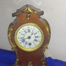 Relojes de carga manual: ESPECTACULAR RELOJ ANTIGUO LUIS XV IMPECABLE. Lote 222176635