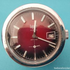 Relojes de carga manual: RELOJ DE MESA DE CARGA MANUAL SUIZO. Lote 222248676
