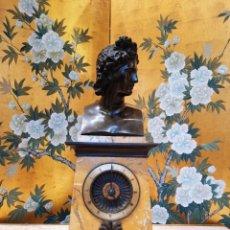 Relojes de carga manual: GRAN RELOJ DE MARMOL Y BRONCE DE 1810. Lote 222278651