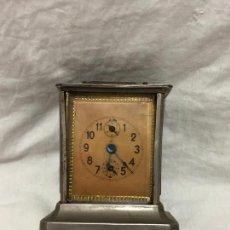 Relojes de carga manual: RELOJ DE SOBREMESA DE CUERDA NO SE SI FUNCIONA NO TIENE LLAVE. Lote 222590598