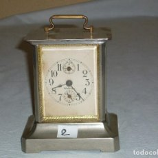 Orologi di carica manuale: RELOJ CARRUAJE Nº2. Lote 222657638