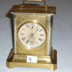 Relojes de carga manual: RELOJ CARRUAJE N4. Lote 222662385