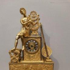 Relojes de carga manual: RELOJ IMPERIO EN BRONCE APOLO CON LA LIRA. Lote 223315890