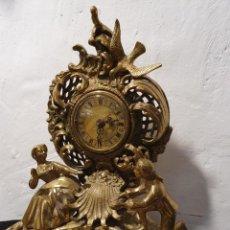 Relojes de carga manual: RELOJ DE BRONCE. Lote 224318658