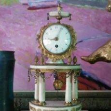 Relojes de carga manual: PRECIOSO RELOJ DE SOBREMESA SIGLO XVIII. Lote 224919437
