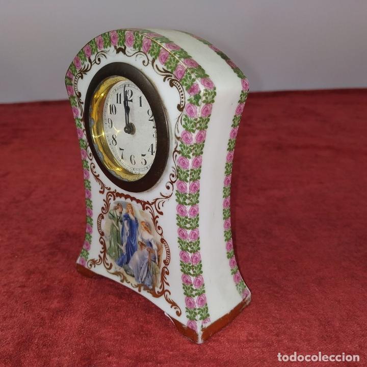 Relojes de carga manual: RELOJ DE PORCELANA. MARCA ROYAL. MECANISMO SUIZO. FRANCIA (?). PRINCIPIO SIGLO XX - Foto 10 - 226595724