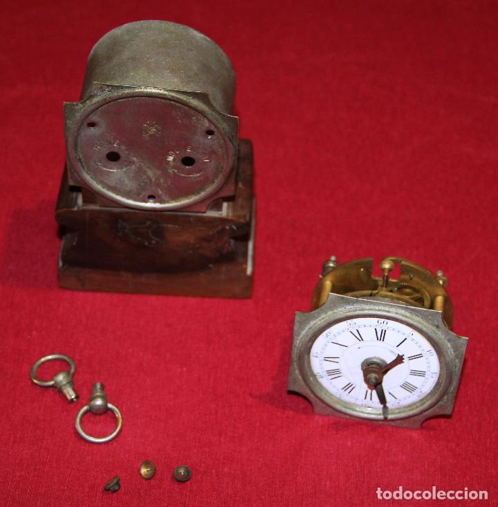 Relojes de carga manual: ANTIGUO RELOJ DE SOBREMESA JAPY FRERES - Foto 2 - 226779630