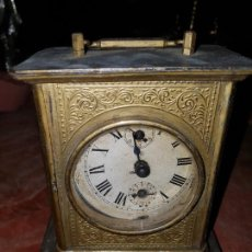 Relojes de carga manual: RELOJ DESPERTADOR. SIGLO XIX. Lote 227230790