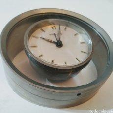 Relojes de carga manual: ANTIGUO RELOJ SIEMENS CON SOPORTE EN CRISTAL Y ACERO. Lote 227918640