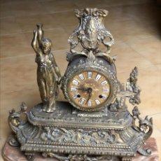 Relojes de carga manual: RELOJ DE BRONCE. Lote 230291505