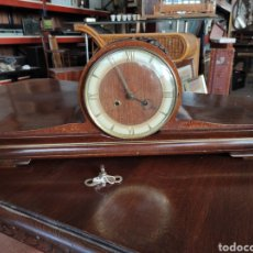Relojes de carga manual: ANTIGUO RELOJ A CUERDA, DE SOBREMESA, MARCA DUGENA. MAQUINARIA ALEMANA. Lote 230709560