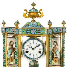 Relojes de carga manual: MAGNIFICO RELOJ DE SOBREMESA CON SONERIAS LAS HORAS Y MEDIAS.. Lote 231581285