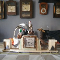 Relojes de carga manual: RELOJ ANTIGUO DE BRONCE ARTDECO M SECONDO. Lote 232185150