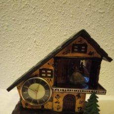 Horloges à remontage manuel: ANTIGUO RELOJ SOBREMESA MARCA MEIKO TOKE MECÁNICA MADE IN JAPAN. Lote 232746320