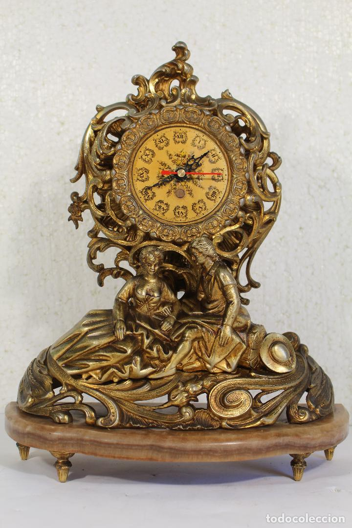 Relojes de carga manual: Reloj de aleación de bronce pareja romantica - Foto 3 - 268863779
