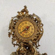 Relojes de carga manual: RELOJ DE ALEACIÓN DE BRONCE PAREJA ROMANTICA. Lote 268863779