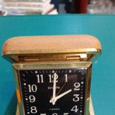 Relojes de carga manual: RELOG EUROPA DE VIAJE FUNCIONANDO BUENO ESTADO ANTIGÜEDADES O ALMACÉN DO COLISEVM COLECCIONISMO. Lote 234485650