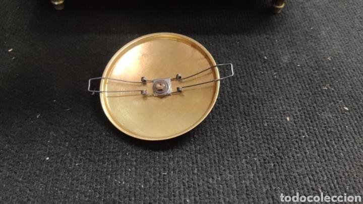 Relojes de carga manual: ANTIGUO RELOJ DE SOBREMESA EN BRONCE MACIZO DE 7.5KG DE PESO - Foto 5 - 234782840