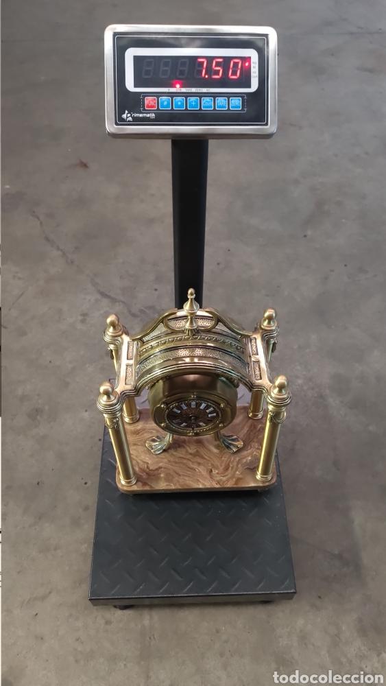 Relojes de carga manual: ANTIGUO RELOJ DE SOBREMESA EN BRONCE MACIZO DE 7.5KG DE PESO - Foto 13 - 234782840