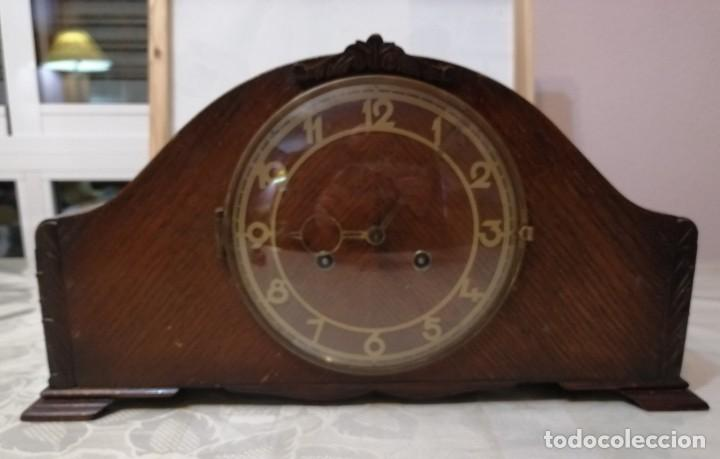 RELOJ DE SOBREMESA JUBA (MADE IN GERMANY). (Relojes - Sobremesa Carga Manual)