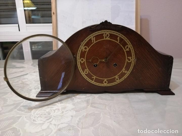Relojes de carga manual: RELOJ DE SOBREMESA JUBA (MADE IN GERMANY). - Foto 3 - 235190495