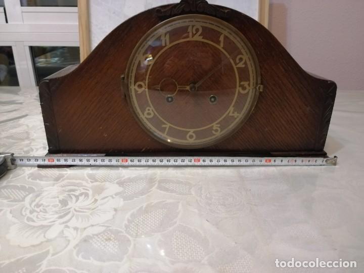 Relojes de carga manual: RELOJ DE SOBREMESA JUBA (MADE IN GERMANY). - Foto 6 - 235190495