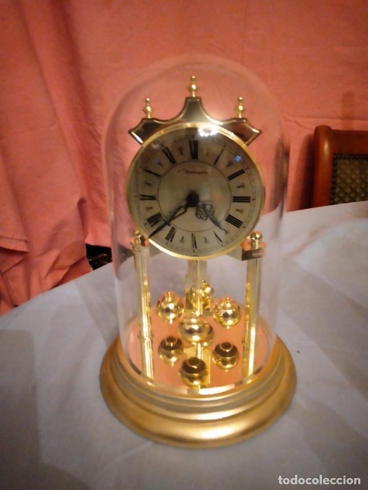 Relojes de carga manual: RELOJ SOBREMESA MARCA WELLINGTON (TIPO KUNDO) QUARTZ GERMANY. funciona a pilas - Foto 2 - 235576550