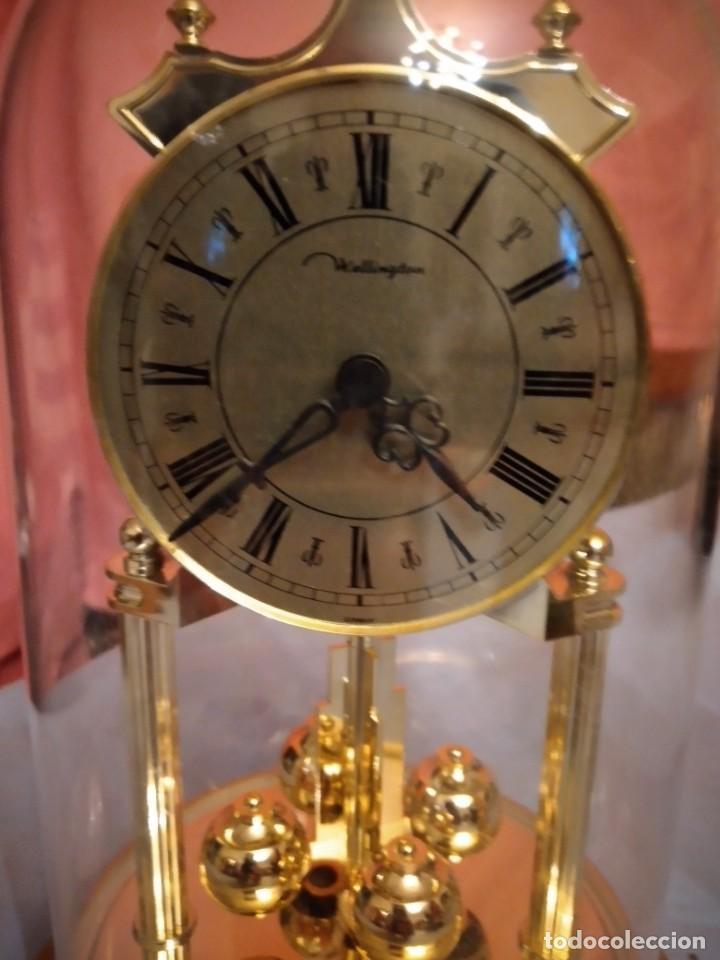 Relojes de carga manual: RELOJ SOBREMESA MARCA WELLINGTON (TIPO KUNDO) QUARTZ GERMANY. funciona a pilas - Foto 3 - 235576550