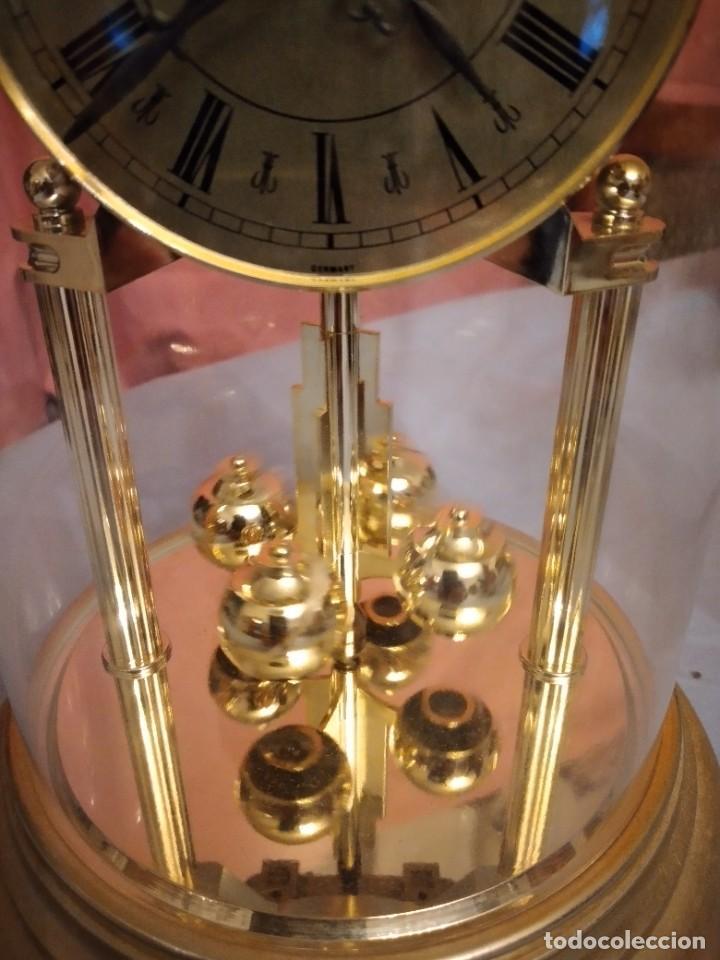 Relojes de carga manual: RELOJ SOBREMESA MARCA WELLINGTON (TIPO KUNDO) QUARTZ GERMANY. funciona a pilas - Foto 4 - 235576550