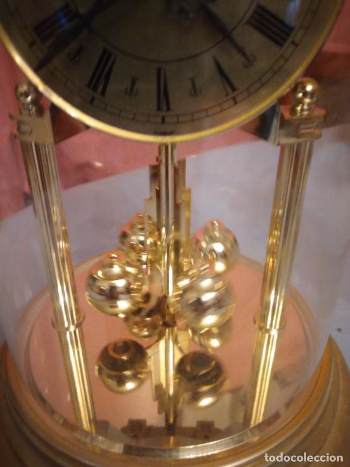 Relojes de carga manual: RELOJ SOBREMESA MARCA WELLINGTON (TIPO KUNDO) QUARTZ GERMANY. funciona a pilas - Foto 5 - 235576550
