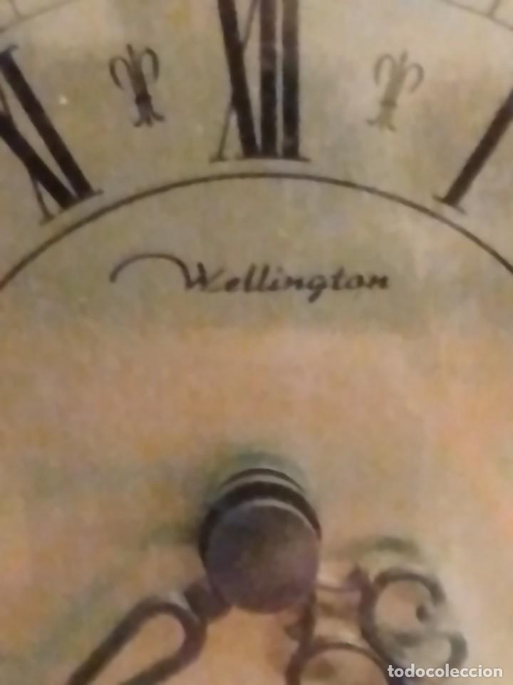 Relojes de carga manual: RELOJ SOBREMESA MARCA WELLINGTON (TIPO KUNDO) QUARTZ GERMANY. funciona a pilas - Foto 6 - 235576550