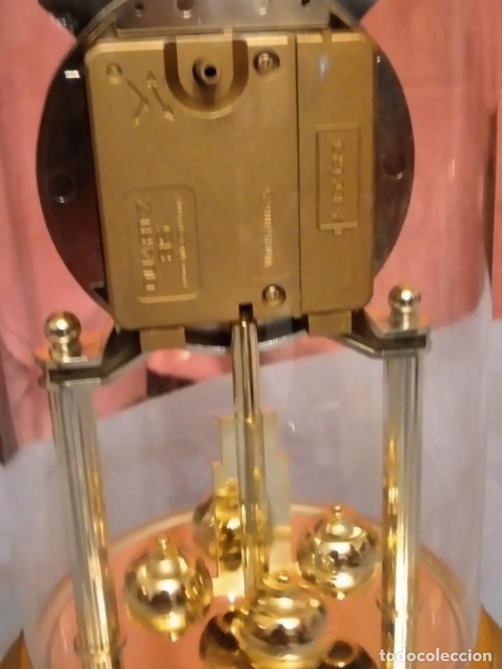 Relojes de carga manual: RELOJ SOBREMESA MARCA WELLINGTON (TIPO KUNDO) QUARTZ GERMANY. funciona a pilas - Foto 9 - 235576550