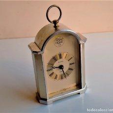 Relojes de carga manual: RELOJ ALEMAN DE 16.CM ALTO METAL. Lote 235600985